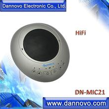 DANNOVO USB Video Conferencing Speakerphone, Omni-directional Microphone, HiFI, Eco Cancellation,for Windows,MAC,Skype,Lync