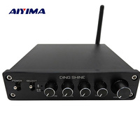 AIYIMA TPA3116 Subwoofer Bluetooth Amplifier HiFi TPA3116D2 2.1 Channel Digital Audio Amplifiers 50W*2+100W DC12 24V