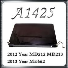"""Оригинальный A1425 ЖК-дисплей Экран в сборе для Macbook Retina 13 """"A1425 ЖК-дисплей Дисплей Полное собрание поздно 2012 начале 2013 MD212 MD213 LL/"""