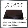 Original a1425 lcd screen display asamblea para macbook retina 13 ''late 2012 principios de 2013 md212 md213 ll/a