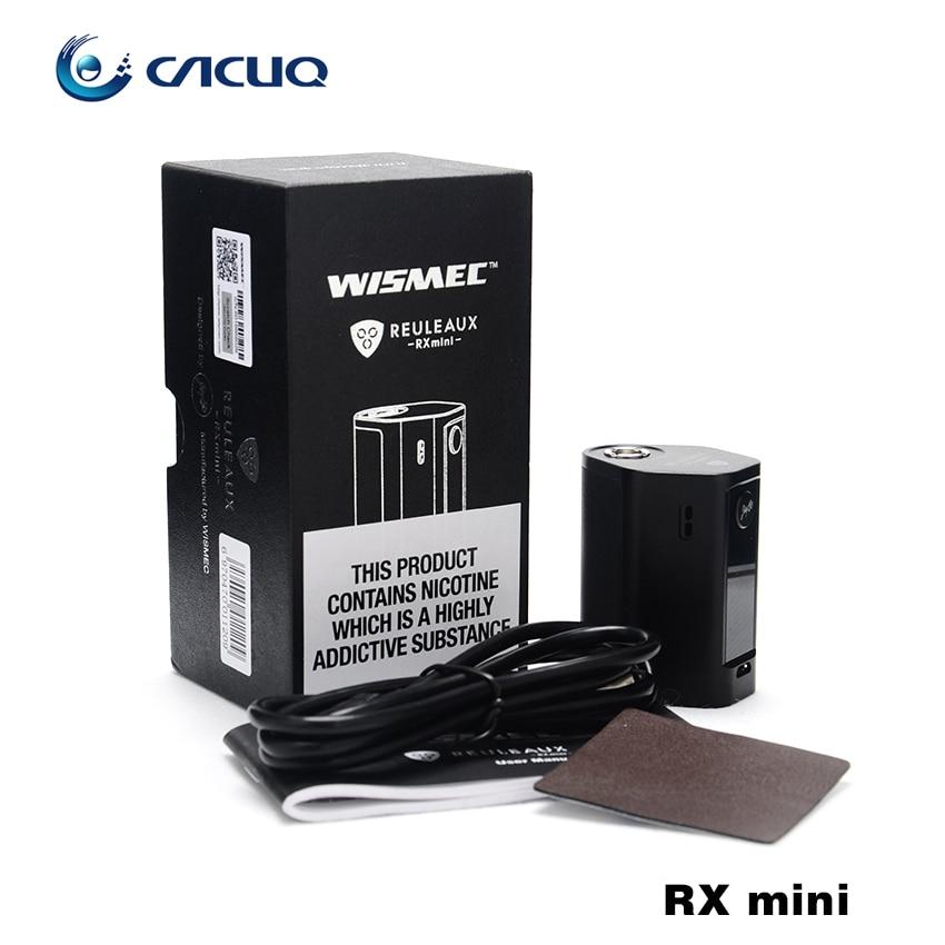ФОТО Original Wismec Reuleaux RXmini Kit 80W Box Mod RX mini with 2100mAh and 2ml Atomizer Tank Built-in Battery TC Kit