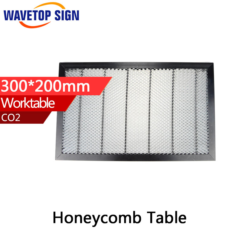 Honeycomb Working Table 300*200 mm Customizable Size Board Platform Laser Parts for CO2 Laser Engraver Cutting Machine laser enquipment parts honeycomb working table for co2 laser engraver cutting machine