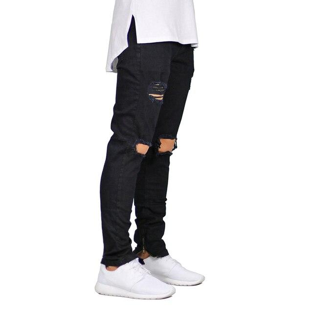 Ankle Zipper Skinny Jeans 8
