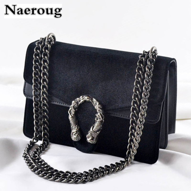 Fashion Chain Casual Shoulder Bag Messenger Bag Luxury Handbag Famous Brand Women Designer Crossbody Bags Lady Clucth Sac A Main trenadorab velour shoulder bag women bag luxury handbags designer brand ladies chain velvet crossbody messenger bags sac a main