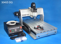 300W Spindle CNC Router 3040 ZQ USB 3 Axis Cnc Engraver With USB Port 110 220V