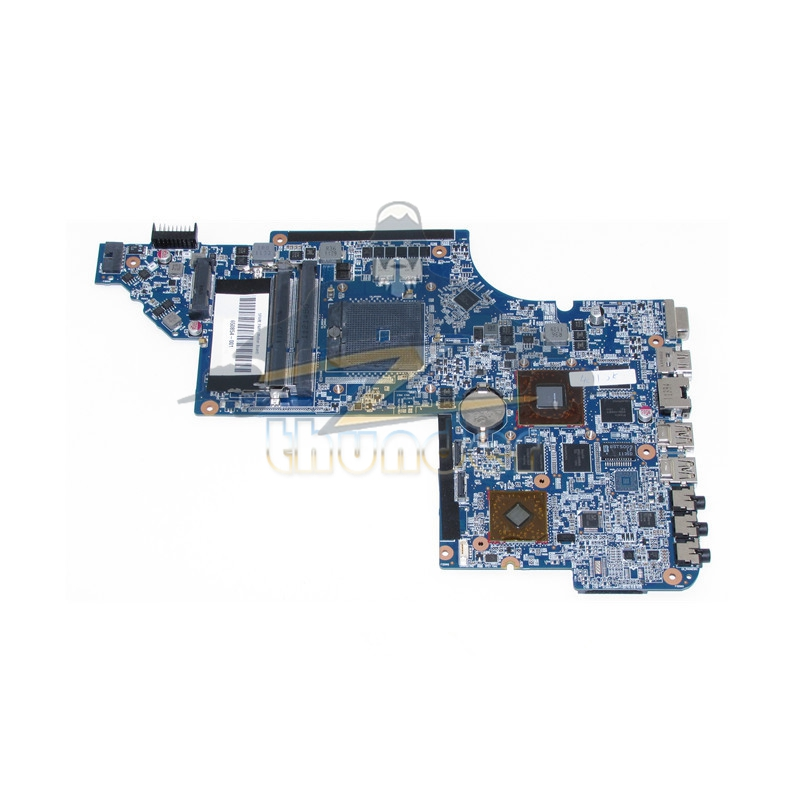 650854-001 for HP Pavilion DV6 DV6-6000 laptop motherboard socket fs1 DDR3 HD6750 nokotion 650852 001 for hp dv6 dv6 6000 laptop motherboard ddr3 socket fs1 high quanlity tested