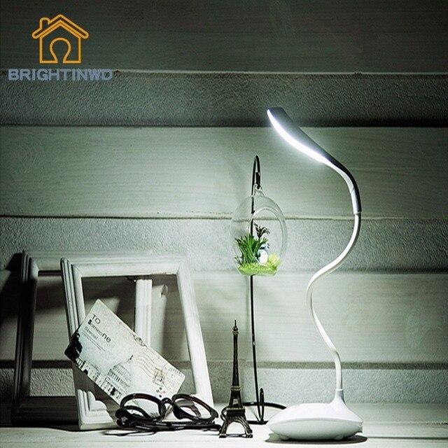 Мини-СВЕТОДИОДНЫЕ Лампы Настольная Лампа USB Dimmable Бюро Свет Регулируемый Современный Читальный Свет Исследование Глаз, Защищенных новое прибытие