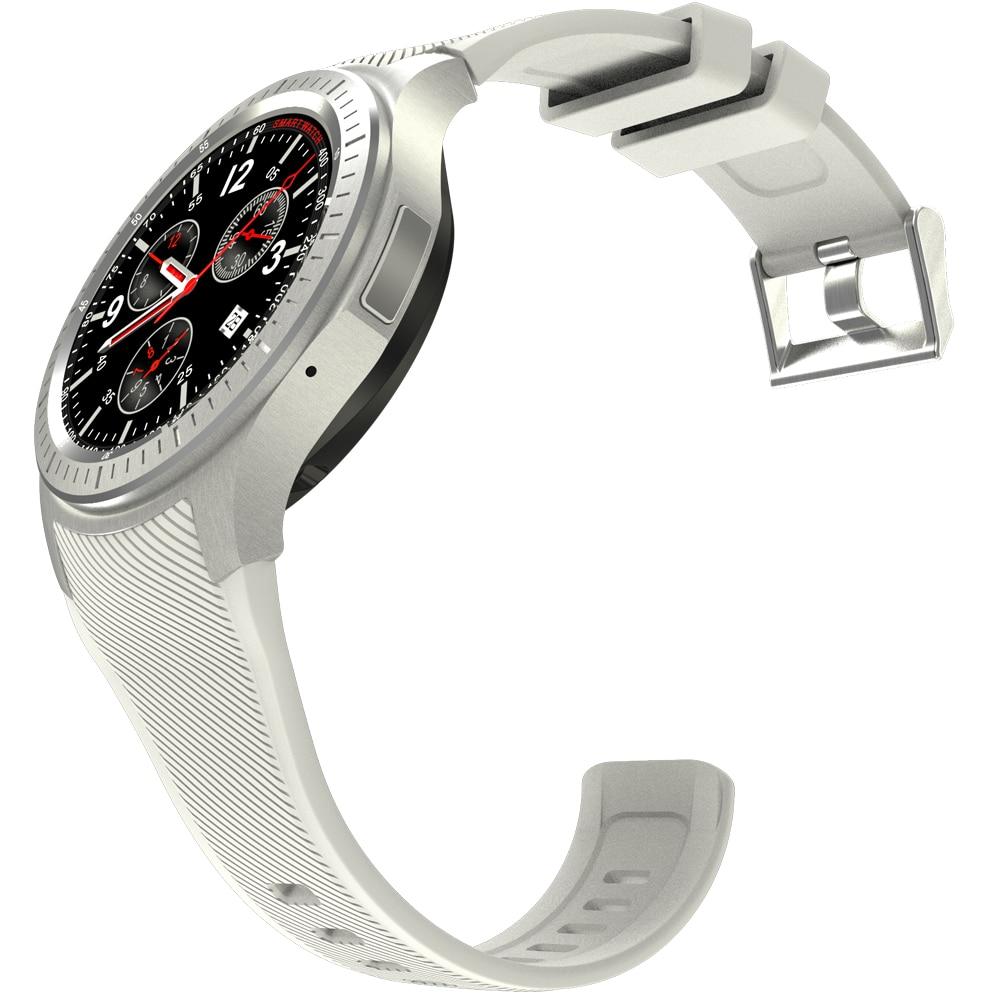 Размер и габариты самих часов составляют 5,9см*2,6см*1,2см при весе в 92г., что позволяет с легкостью носить девайс на руке целый день.