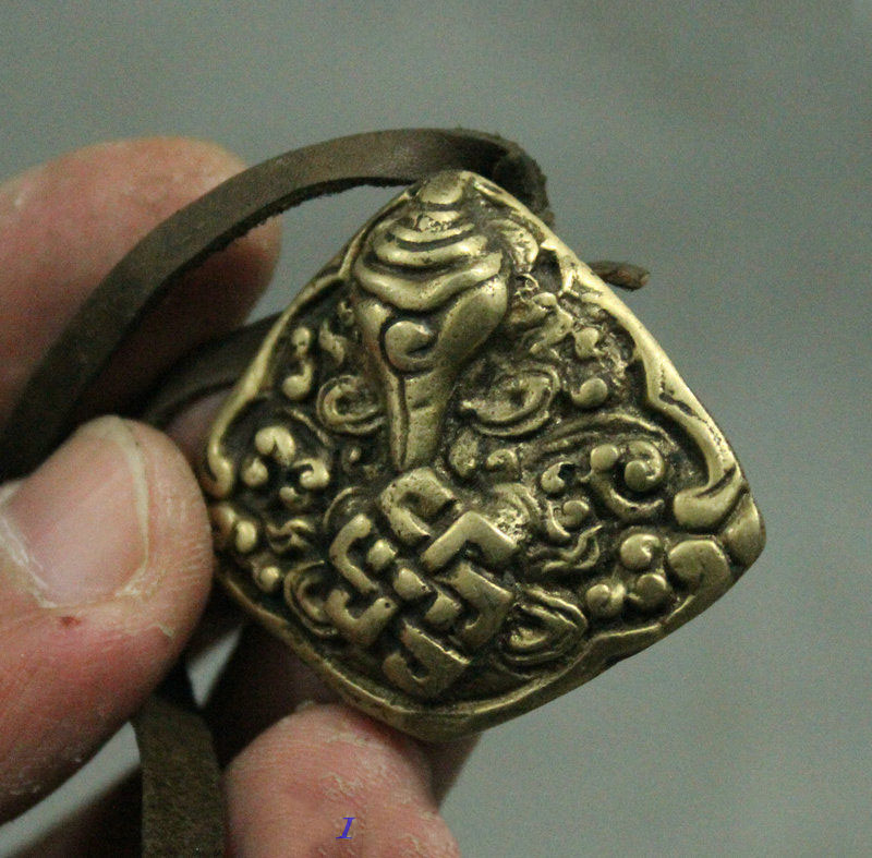 118MM Small Curio Chinese Bronze Lucky Bird Tea Needle Tea Cone Pendant Statue