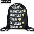 Deanfun 2016 новая мода рюкзак 3D печать путешествия softback мужчина женщины harajuku drawstring сумка мужские рюкзаки