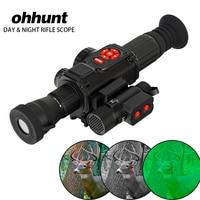 Цифровой с видео регистраторы gps Wi Fi компасы осветитель день и ночное видение область прицел для охоты прицел винтовки