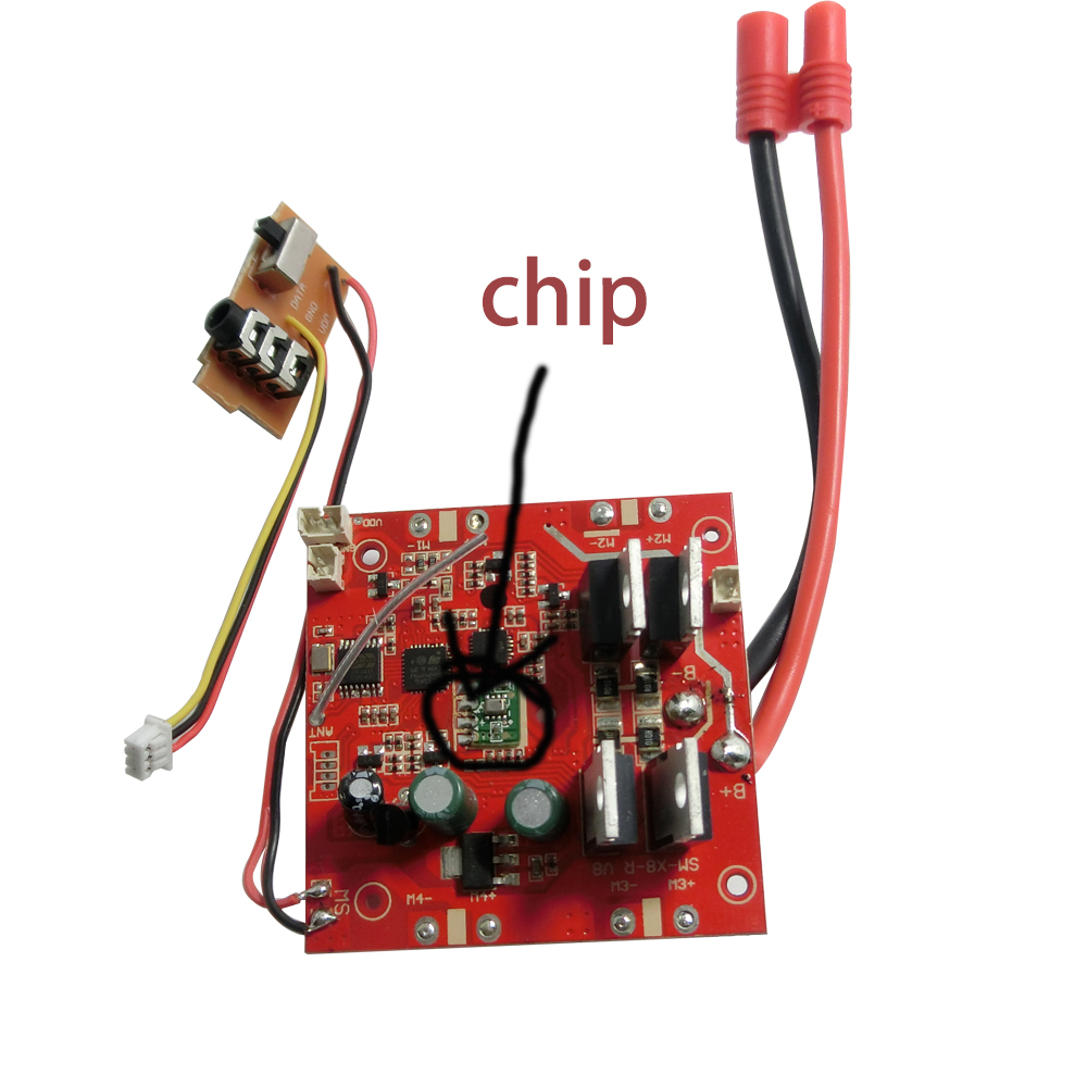 Original Syma X8hc Pcb Circuit Board Receiver And Transmitter Remote Wiring Bee Controller Spare Parts For X8hw X8hg Rc Helicopters In Accessories From Toys