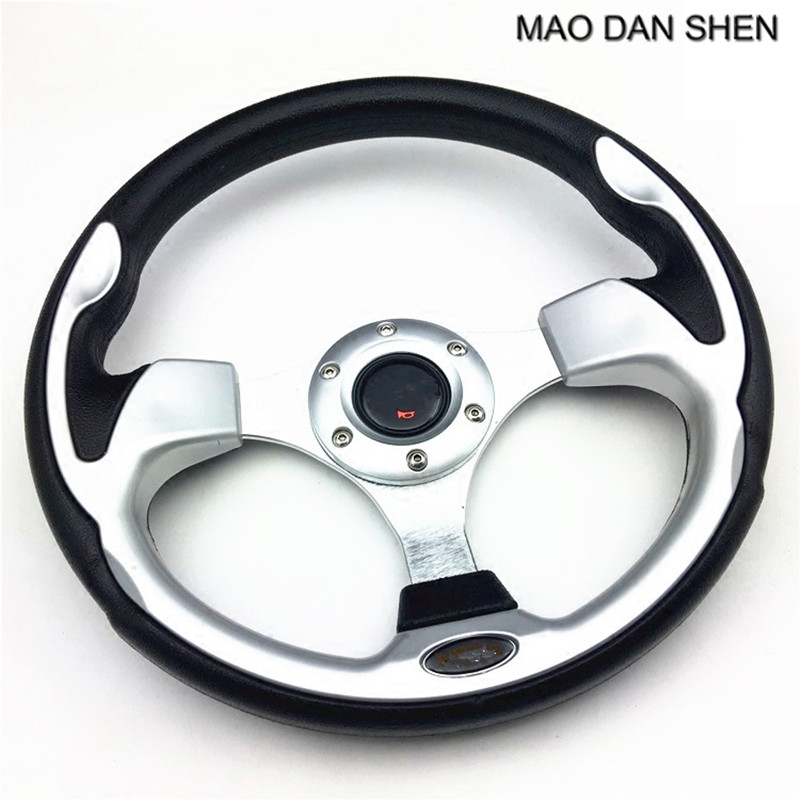 Car styling Sports Universal Alloy Steering Wheel / 13in Racing Steering Wheel Blue / Red / Silver / Black / White