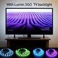 LED String para HDTV-USB Retroiluminação LED Brilhante Tira de fixação para TV LCD De Controle RGB Backlight Night Light Kit