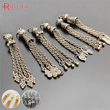 (23781)Wholesale Tassel Charms Diy Jewelry Findings Accessories