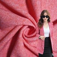 Fabric Cloth Imitate Linen Women Suit Pants Coat Fabric DIY Fabric Handmade Width 1.5*length 1m B93