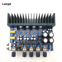 LM1875 Amplifier Papan 2.1 Channel Amp Bass Differential Amplifier BTL Amplificador Papan LM1875 DIY Kit/Selesai(China)