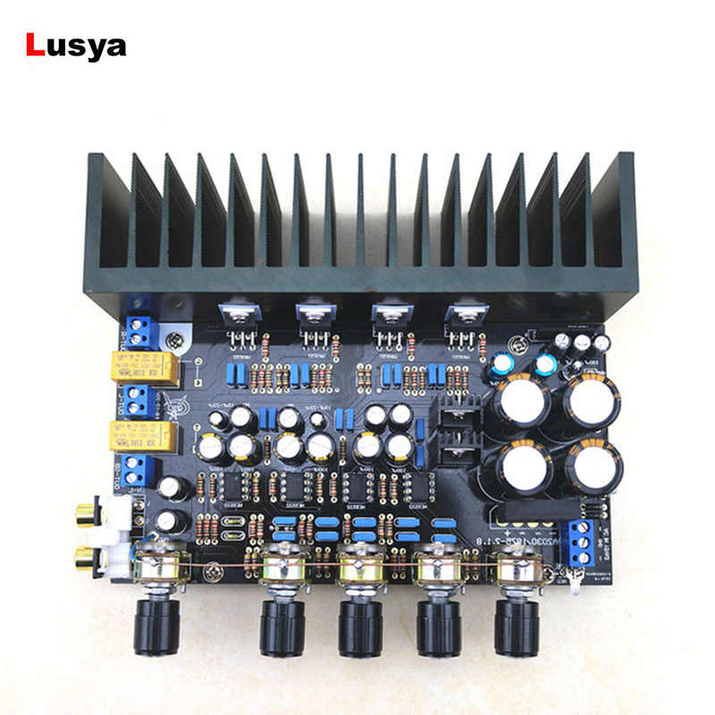 LM1875 Amplifier Papan 2.1 Channel Amp Bass Differential Amplifier BTL Amplificador Papan LM1875 DIY Kit/Selesai