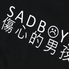 Yung Lean Sad Boys Hoodie Men Cotton Yung Lean Unknown Death Sweatshirt Casual Fleece Lil Peep Hoodies Men Women Streetwear Hood