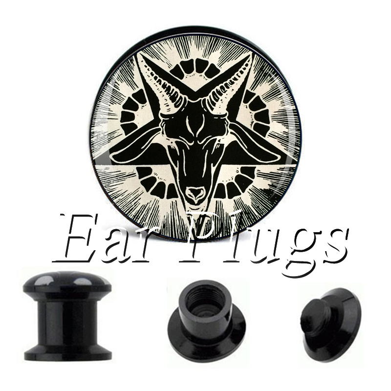 Wholesale Gray Sheep plug gauges acrylic screw ear plug flesh tunnel piercing body jewelry