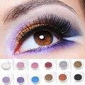 12 Colores de Sombra de Ojos Shimmer Cosméticos Manchas de Sombra de Ojos Paleta de Maquillaje Ultra-práctico para Las Mujeres 1 unids