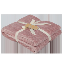 New Flannel Blanket Air Conditioning Blanket Home Comfort Solid Color Single Nap Blanket стоимость