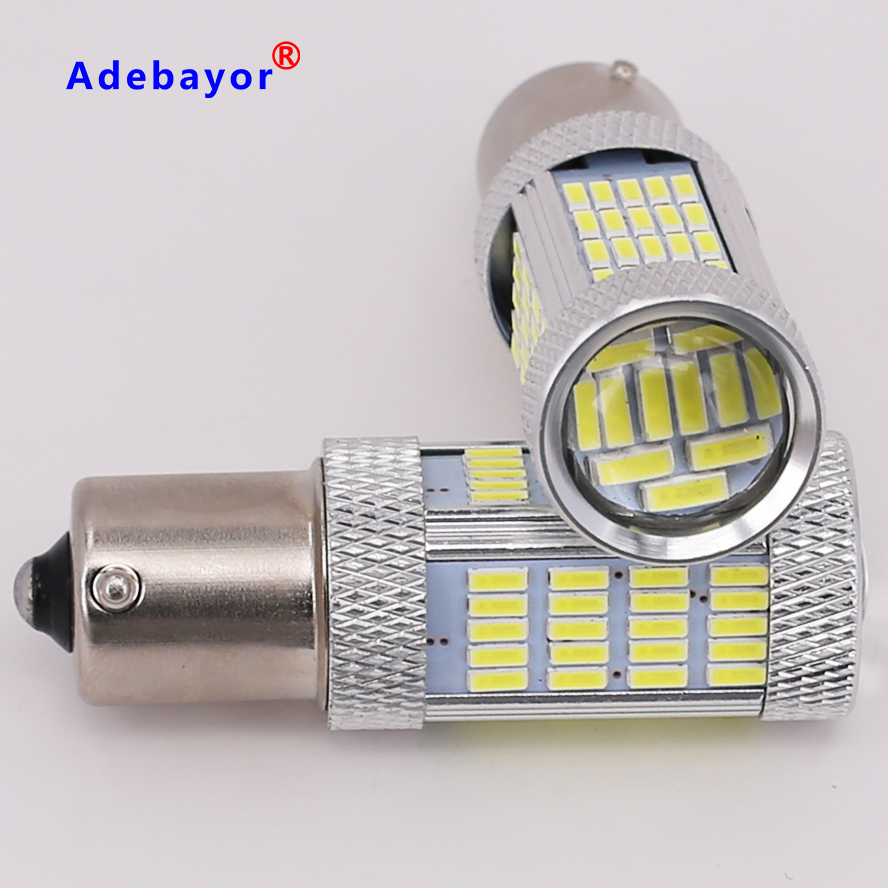 2pcs Brand New High power canbus 1156 92SMD imported 4014 led chips paking light reverse light
