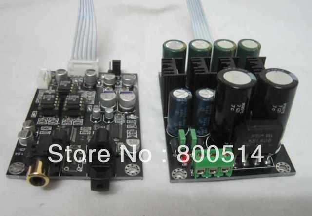 Assembled 24Bit/192KHz CS8416 + PCM1798 DAC & PSU board   --#0508-7