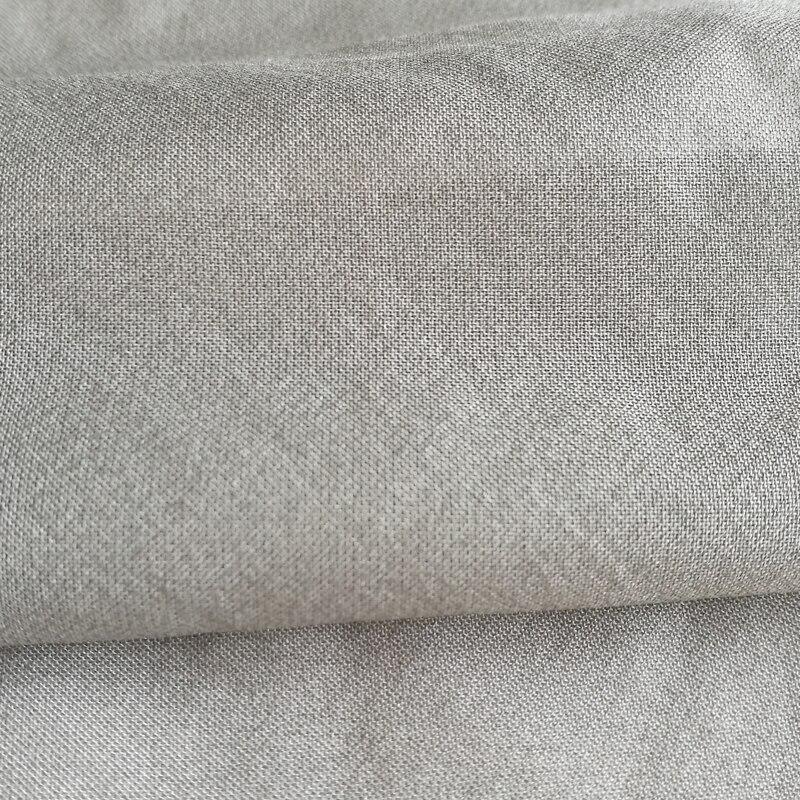 Mubbery silk wiht  silver fiber radiashielding fabric  silver 80#