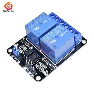 5V 2 Channel 2CH Optocoupler Relay Module Board 8051 AVR PIC DSP ARM MSP430 TTL Logic For Arduino AC 250V 10A DC 30V