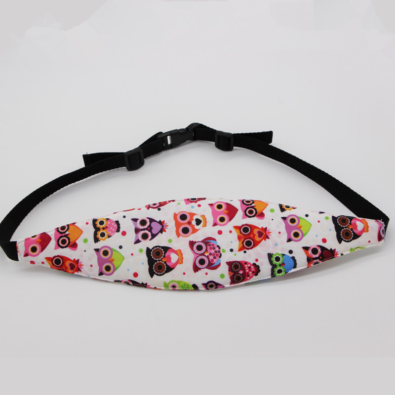 Car Seat Belt Child Safe Sleeping Protection Belt Baby Head Fixed Support Head Band FJ88