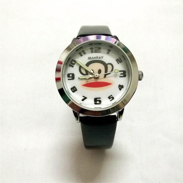 Cartoon monkey bambini Watch bambini ragazzi orologio Al Quarzo regalo di compleanno Studentessa di moda causale Orologio Da Polso mujer reloje Montre Homme