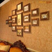 Модные фотографии настенная фоторамка сочетание винтажной ромбовидной стены фото коробка