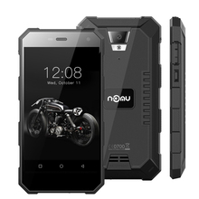 Nomu S10 5.0 pulgadas Android 6.0 Smartphone IP68 A Prueba de agua 720*1280 MTK6737T Quad Core 2 GB RAM 16 GB ROM 5000 mAh 4G Mobile teléfono