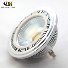 10piece dimmable cob 15w g53 ar111 led bulb light ac110220v 15w equivalent to 100w halogen lamp for home lighting