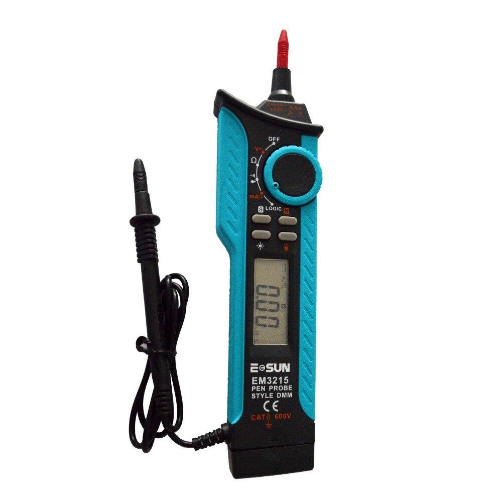 all-sun EM3215 Pen type Digital Multimeter DC AC Voltage Current Tester Diode Continuity Logic Voltage tester  цены
