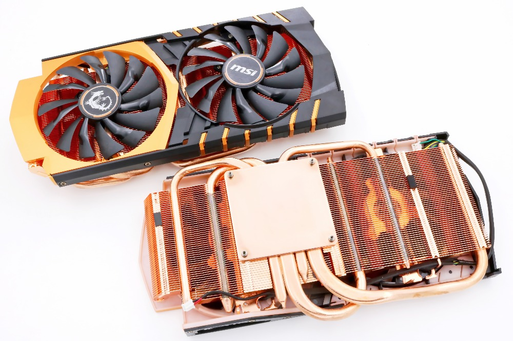 New Original for MSI GTX970 GAMING 4G GOLDEN limited EDITION Gold video card cooler fan with heat sink new mf8 eitan s star icosaix radiolarian puzzle magic cube black and primary limited edition very challenging welcome to buy