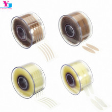 300pair Gauze Stick Stealth Mix 4 Style Double-Fold Eyelid Shadow Sticker Instant Eye Double Eyelid Beautiful Eye Make Up Tools 5pieces lot soft plastic open eye practice makeup doll head 1 6 white double fold eyelid diy heads for barbies bjd make up