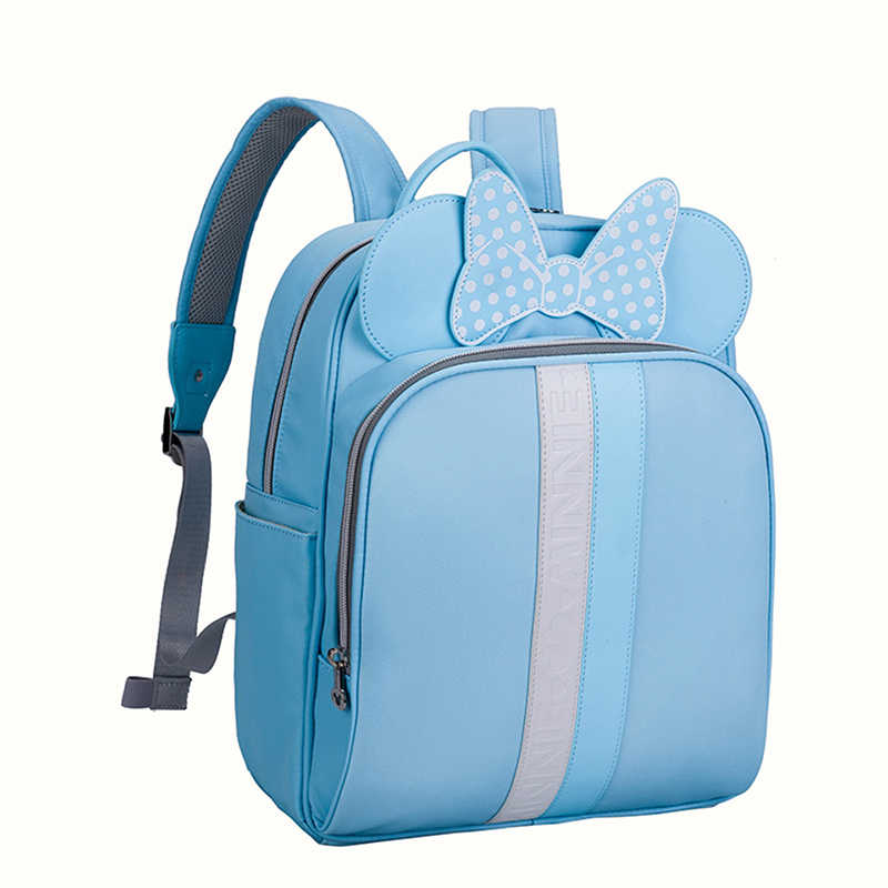 Disney Baby Diaper Bags PU leather cute Bolso Maternal Stroller Bag Nappy Backpack Maternity Bag Mommy Bakim Cantalari Backpack
