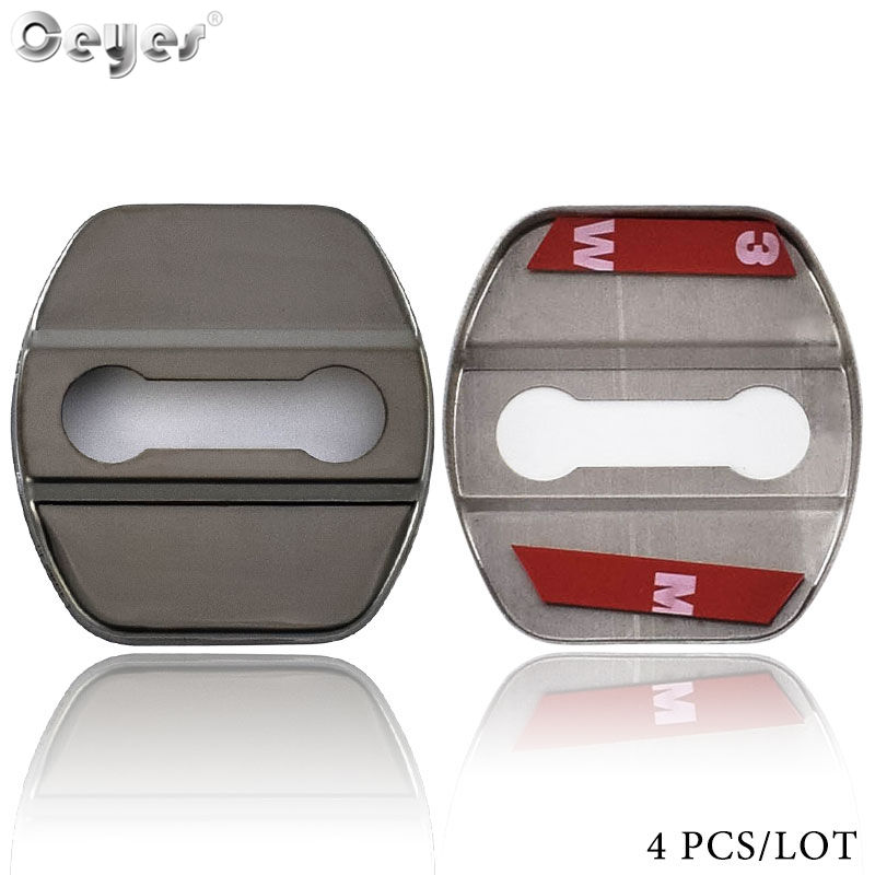 Ceyes Decor Protect Stickers Car Door Lock Covers For Infiniti FX35 Q50 Q30 ESQ QX50 QX60 QX70 EX JX35 G35 G37 EX35 Car Styling