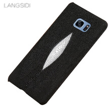 LANGSIDI brand mobile phone case Pearl fish half a pack for Samsung note 10 9 A70 custom processing