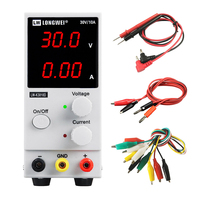 Fast Delivery 30V 10A Switching Regulator DC Power Supply Adjustable LW K3010D Mobile Phone Repair Mini Laboratory Power Supply