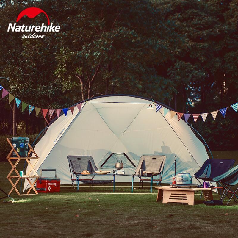 Nature randonnée Camping auvent tente abri soleil pour loisirs de plein air plage bâche tente imperméable à l'eau auvent jardin Gazebo NH18Z001-P