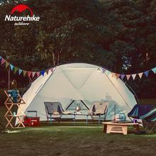 Naturehike Camping Awning Tent Sun Shelter For Outdoor Recreation Beach Tarp Tent Waterproof Canopy Garden Gazebo NH18Z001-P цена 2017