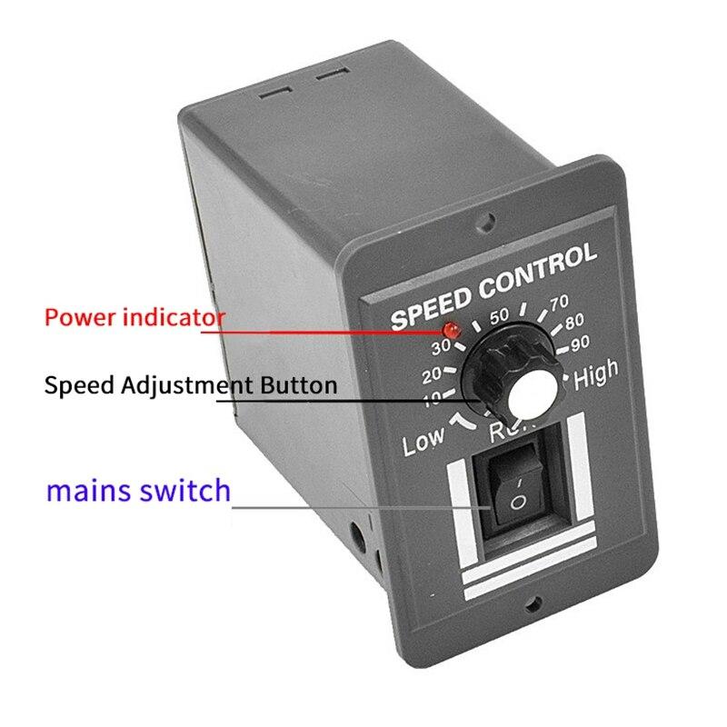controlador da velocidade do motor da c.c.