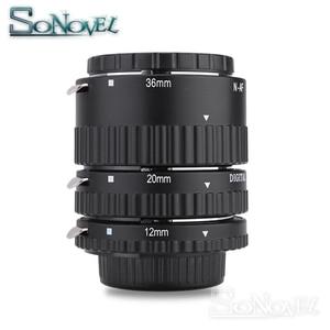 Image 3 - マイクスオートフォーカスメタルafマクロ延長チューブセット用ニコンd7500 d5600 d5300 d3300 d850 d810 d800 d750 d500 d5 d4sデジタル一眼レフカメラ