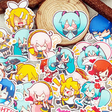 40 Pcs/lot Anime Beauty Girl Scrapbooking Stickers Car Case Waterproof Laptop Bicycle Notebook Backpack waterproof Sticker(China)