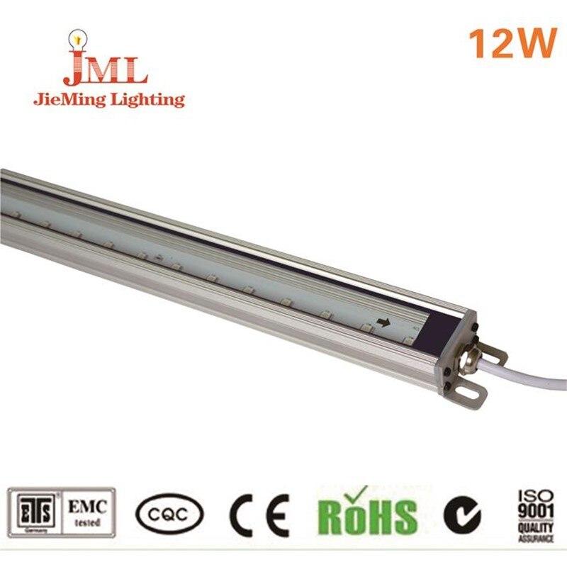 Modern 100cm length Aluminum Linear 12V LED Bar Light outdoor building bridge Lighting Epistar chip led