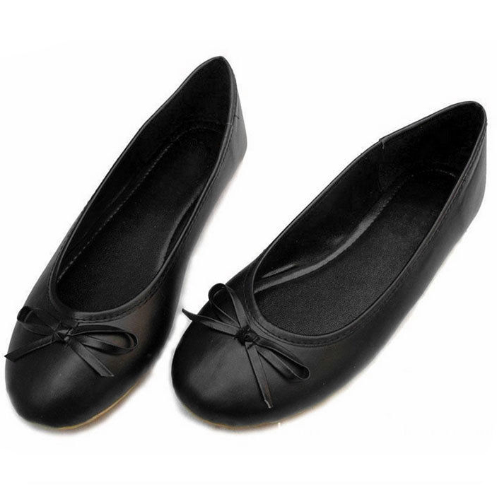 8f824a47a New Ladies Womens Bow Dolly Flat Shoes Ballerina Ballet Flats Slippers-in  Women's Flats from Shoes on Aliexpress.com | Alibaba Group