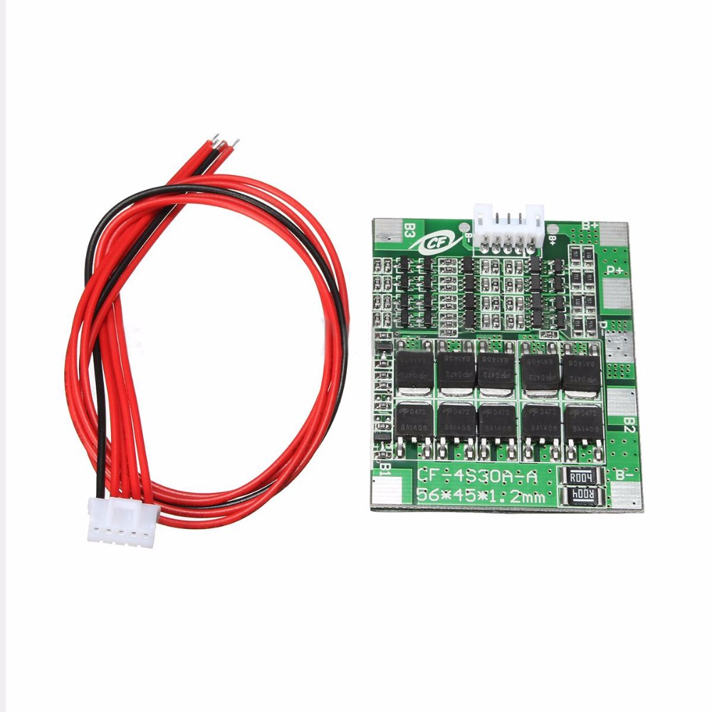 Mayitr 1 pc 4S 14.8 V PCB Protection Board Balance Over Charge Protection Board